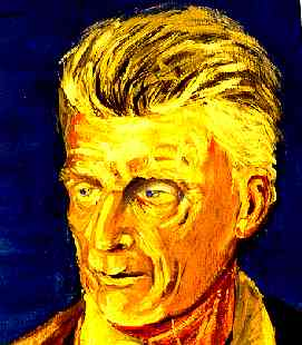 Samuel Beckett portrait by Gaynor