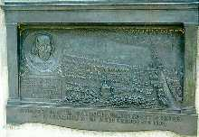 Image of the plaque commemorating the site of the Globe in Park Street